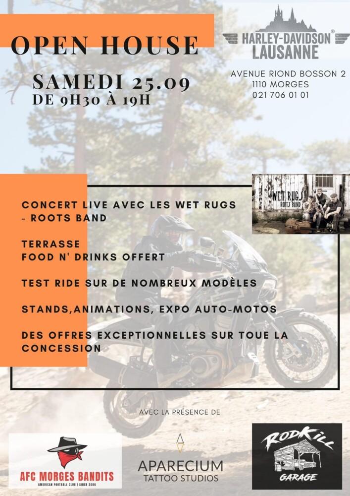 Harley-Davidson Lausanne - Open House