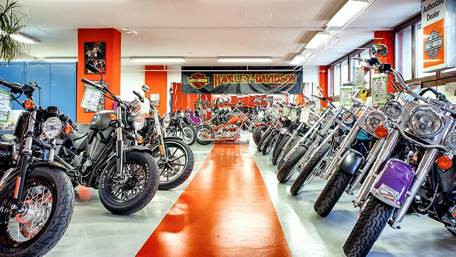 Harywood Harley Davidson Garage Hünenberg