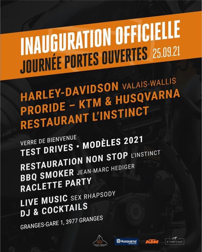 Open House Harley Davidson Valais-Wallis