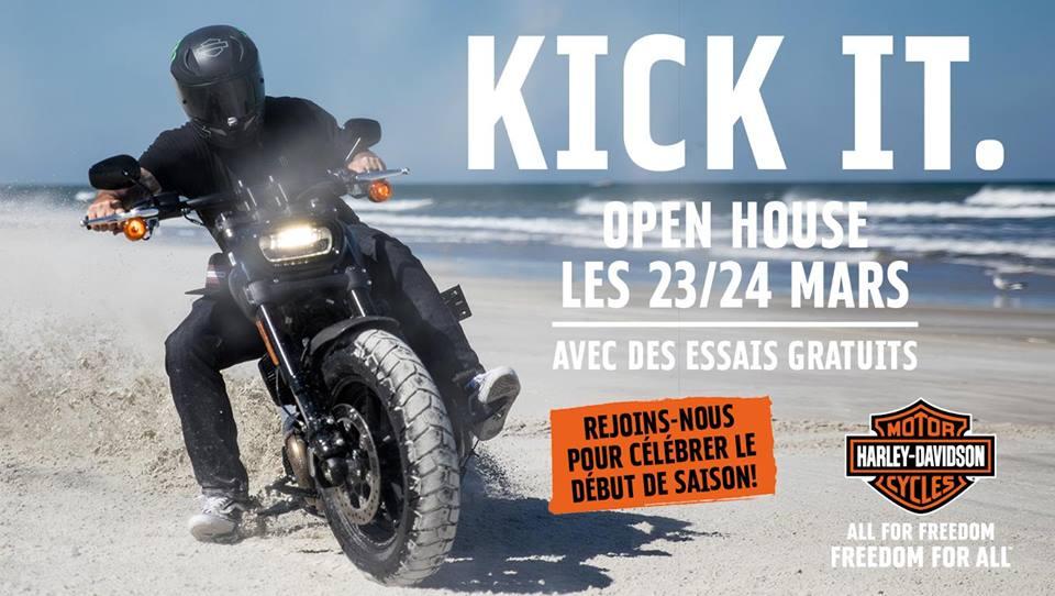 Open House 2019 - Harley Davidson Lausanne