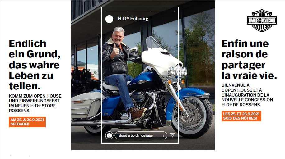 Harley-Davidson Fribourg - Open House